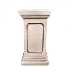 Pedestal recto tipo columna