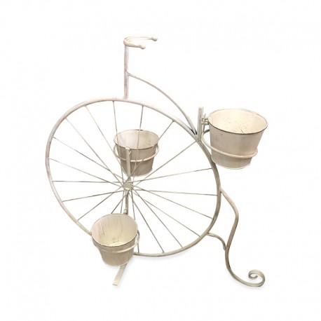 Porta maceta diseño Biciclo
