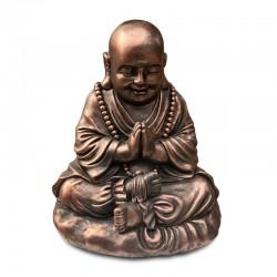Buda cobrizo orando
