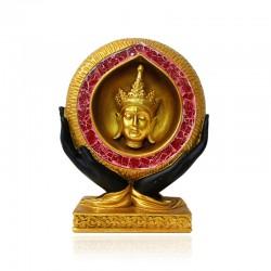 Budas en manos gold