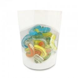 Gemas de vidrio multicolor II