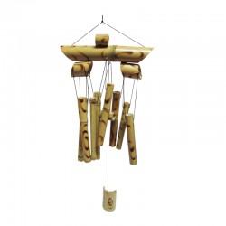 Sonajero de Bamboo color claro