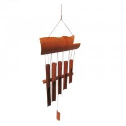 Sonajero de Bamboo escalonado