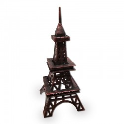 Torre Eiffel con tono rojizo