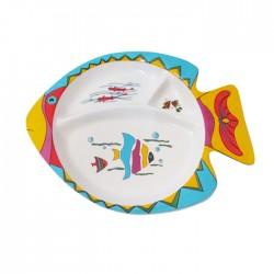 Plato infantil diseño pez