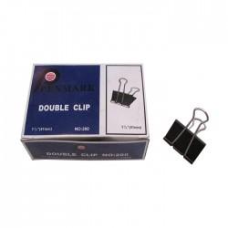 Clip metálico 41 mm caja de 12 unidades