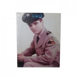 Cuadro Elvis aviador impreso en bastidor