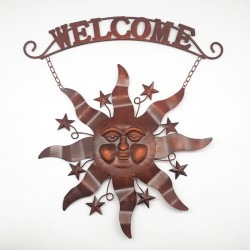 Estrella mural Welcome