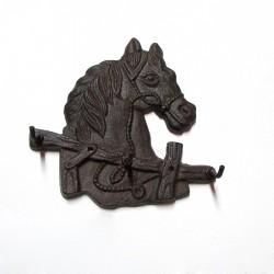 Colgador diseño caballo manso