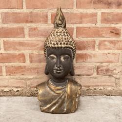 Torse de Buda oscuro y gold opaco