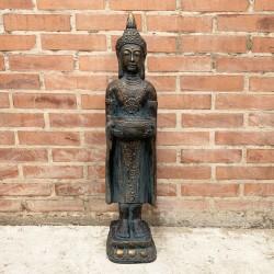 Buda Thai de pie con pileta en manos