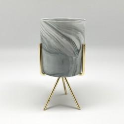 Candelabro gold marmolado