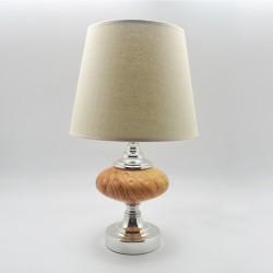 Lámpara en estilo de madera natural