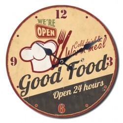Reloj window good food