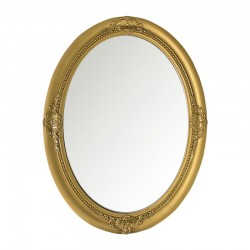 Espejo gold estilo barroco ovalado