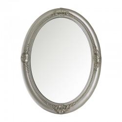 Espejo silver estilo barroco ovalado