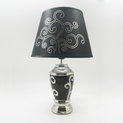 Lámpara black & white ondas II
