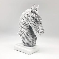 Caballo black & white minimalista