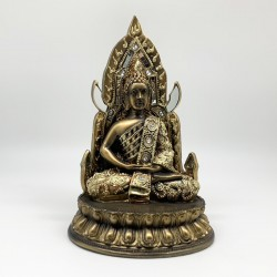 Buda en trono
