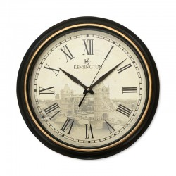 Reloj puente de Londres borde cafe