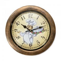 Reloj diseño chef
