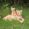 Gatito con cría