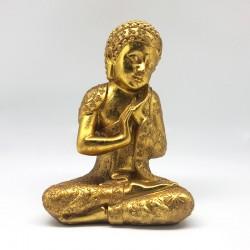 Buda full gold meditando