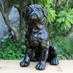 Bull dog inglés negro