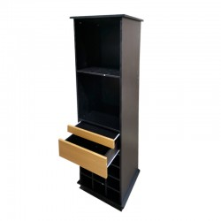 Mueble bar black