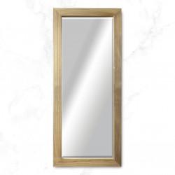 espejo madera cruda