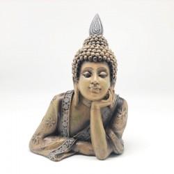 Torso de Buda color tierra