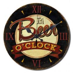 Reloj Beer o'clock