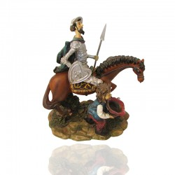 Quijote y Sancho en colores