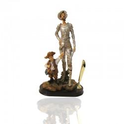 Porta lápiz diseño Quijote y Sancho