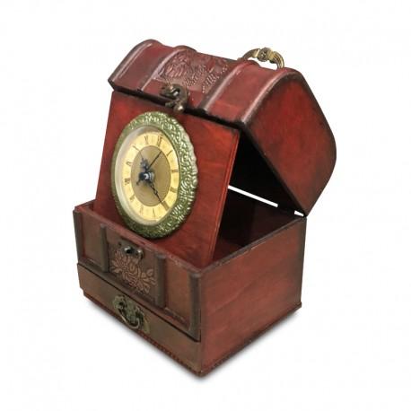 Reloj de madera plegable II