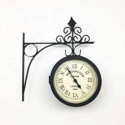 Reloj metálico Paddington doble cara