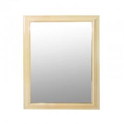 Espejo Beige con vidrio biselado
