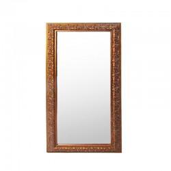 Espejo largo antique con vidrio biselado