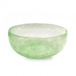 Pecera verde craquelada